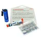 MECHANIC Solder Mask Layer UV Lamp Repair Tool Set BGA PCB Solder Pad Stencils for Mobile Phone