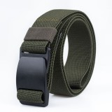 AWMN S01 120cm Belts for Men Women Camouflage Belt Military Tactical Belt Buckle Hanger Leisure Camp