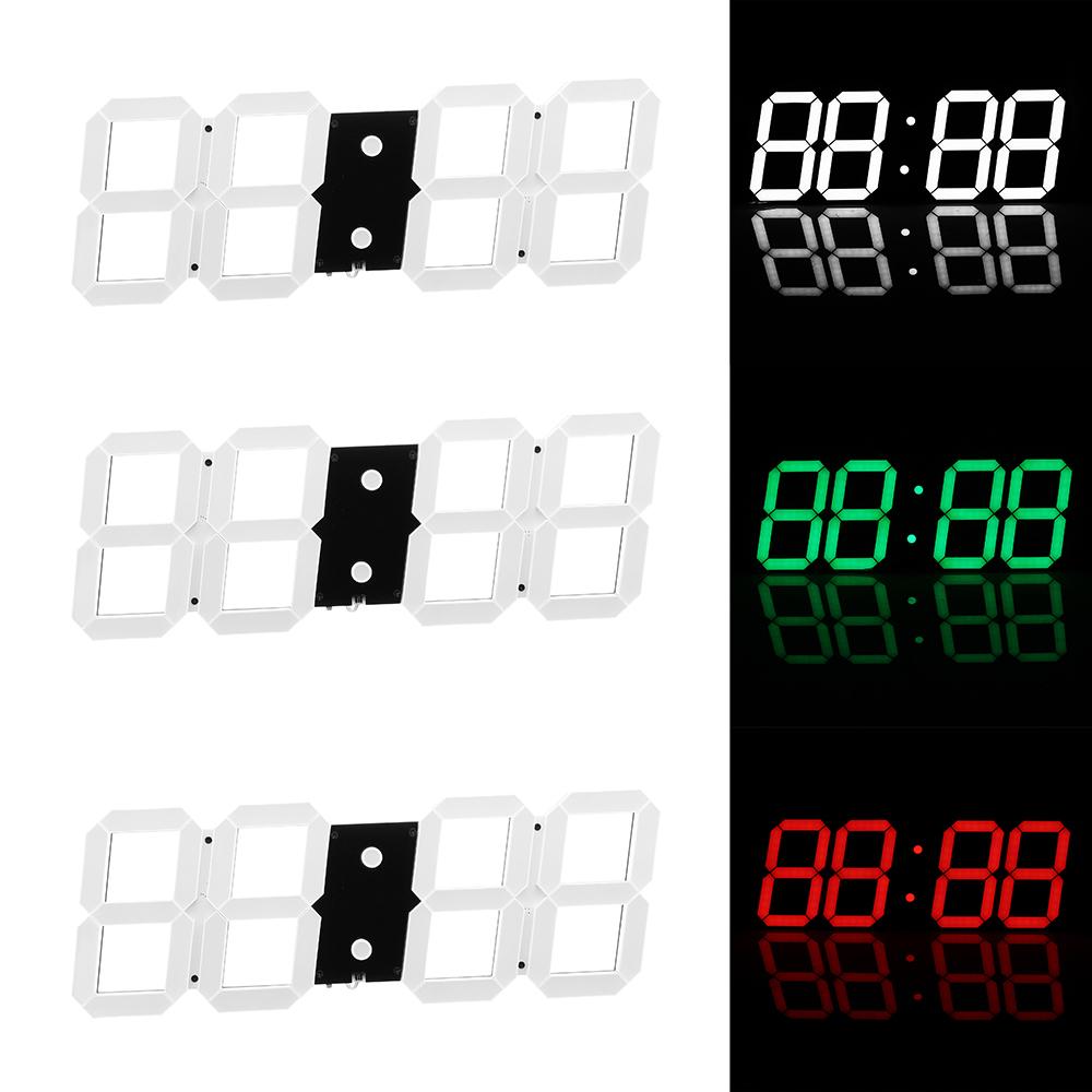 Super Large Digital Wall Clocks LED Alarm Clock Countdown Timer Remote  Control