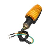 Motorcycle Motorbike Flasher Turn Signal Lamp Indicator LED Lights Universal
