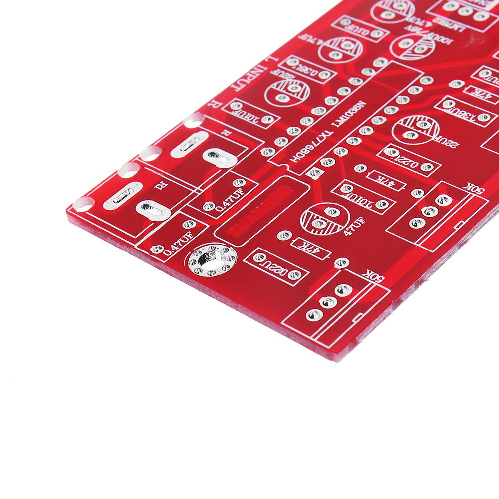 LM1036 Luxurious HIFI Amplifier Preamplifier Volume Control Tone Board1000UF/25V DIY Suit