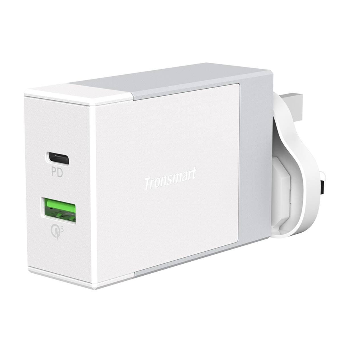 W2DT USB PD Wall Charger 100-240V US/UK/EU Plug USB Charger Plug