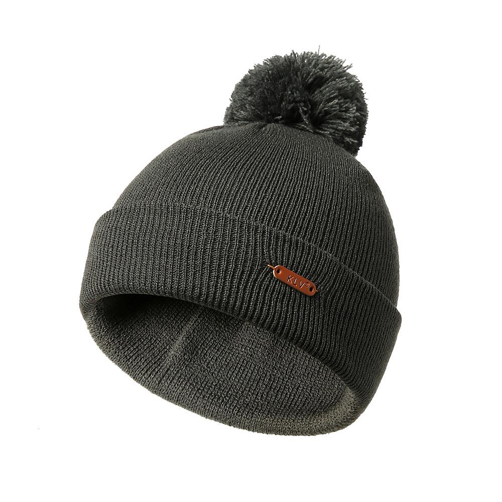 Men Women Winter Vintage Knit Earmuffs Beanie Cap Outdoor Thicken Warm Skullcap