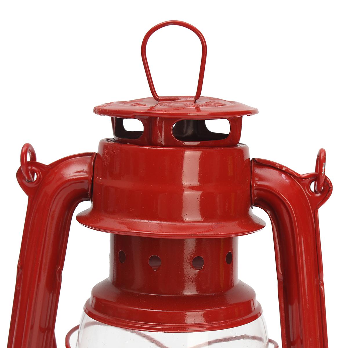 Vintage Oil Lamp Lantern Kerosene Paraffin Hurricane Lamp Light Outdoor Camping