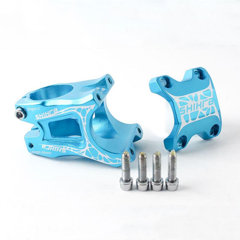 BIKIGHT 31.8X50mm Ultralight Short Stem Aluminum Alloy Cycling MTB/Road Bike Bicycle Handlebar Stem
