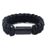 IPRee EDC Outdoor Survival Bracelet Camping Emergency Paracord Tool Kits USB Data Cable For iPhone