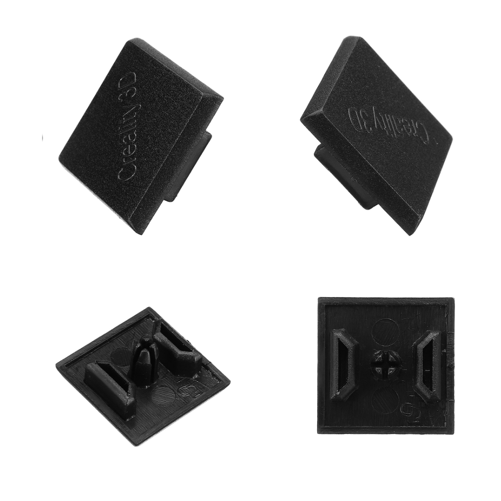Creality 3D 2020 Black Plastic ABS End Cap Cover For
