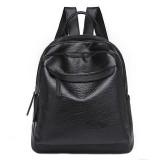 10L PU Leather Backpack Outdoor Camping Large Capacity Shoulder Bag Waterproof  Handbag