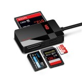 Kawau C369 DUO All-in-One USB 3.0 CF/SD/TF/MS Card Reader Support Simultaneous Read