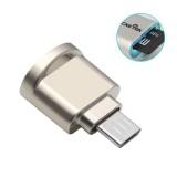 Rocketek Mini Metal Micro USB OTG TF Card Memory Card Reader for Xiaomi Smartphone
