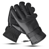 48V/60V/72V Electric Powered Touch Screen Winter Waterproof Warm Heated Motorcycle Gloves