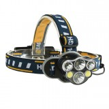 XANES 2606-6 Headlamp 18650 USB Xiaomi Electric Scooter Motorcycle E-bike Bike Bicycle Cycling Camp