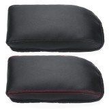 PU Leather Car Center Console Armrest Arm Rest Box Cover Cushion for SKODA Octavia A7 2015-2018