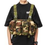Tactical Vest Camouflage Tactics Belly Pocket Condor 7 Chest Rig Magazine Carrier Bag