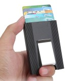 IPRee Aluminum Alloy Card Holder Credit Card Case ID Card Box Metal Wallet Clip Business Travel