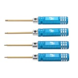 RJXHOBBY Mini Hex Wrenches Screwdriver Tools 1.5mm 1.65mm 2.0mm 2.5mm for RC Drone 4 PCS