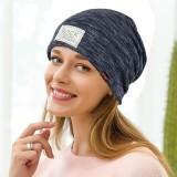 Men Women Winter Vintage Double Layers Earmuffs Beanie Hats Outdoor Slouch Skull Cap