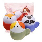 Cooland Animal Cup Squishy 10.5*9.6*8CM Soft Slow Rising With Packaging Collection Gift Toy