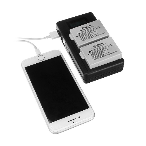 Palo LP-E8-C USB Rechargeable Battery Charger Mobile Phone Power Bank for Canon LP-E8