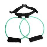 30 Pounds Elastic Rope Leg Training Exercise Belt Sports Bandage Yoga Agility Training Pull Rope