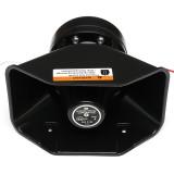 12V 400W Loud Car Warning Alarm Police Siren Horn PA Speaker MIC System