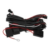 For BMW Halo Rings Lights CCFL Fade on/off Headlight Angel Eye Relay Harness Kit