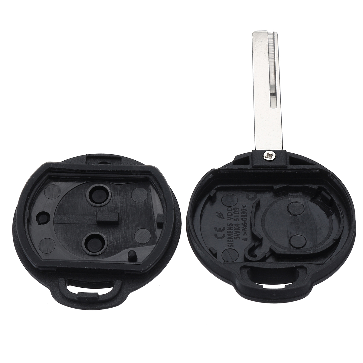 2 Buttons Remote Key Case Fob Shell For Benz Mercedes Smart Forfour