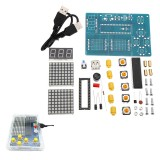 51 SCM Chip Game Console Electronic Production DIY Kit Play Game Design Board Module