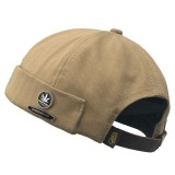 Men Retro Cotton Adjustable Brimless Hats Outdoor Skullcap Sailor Cap