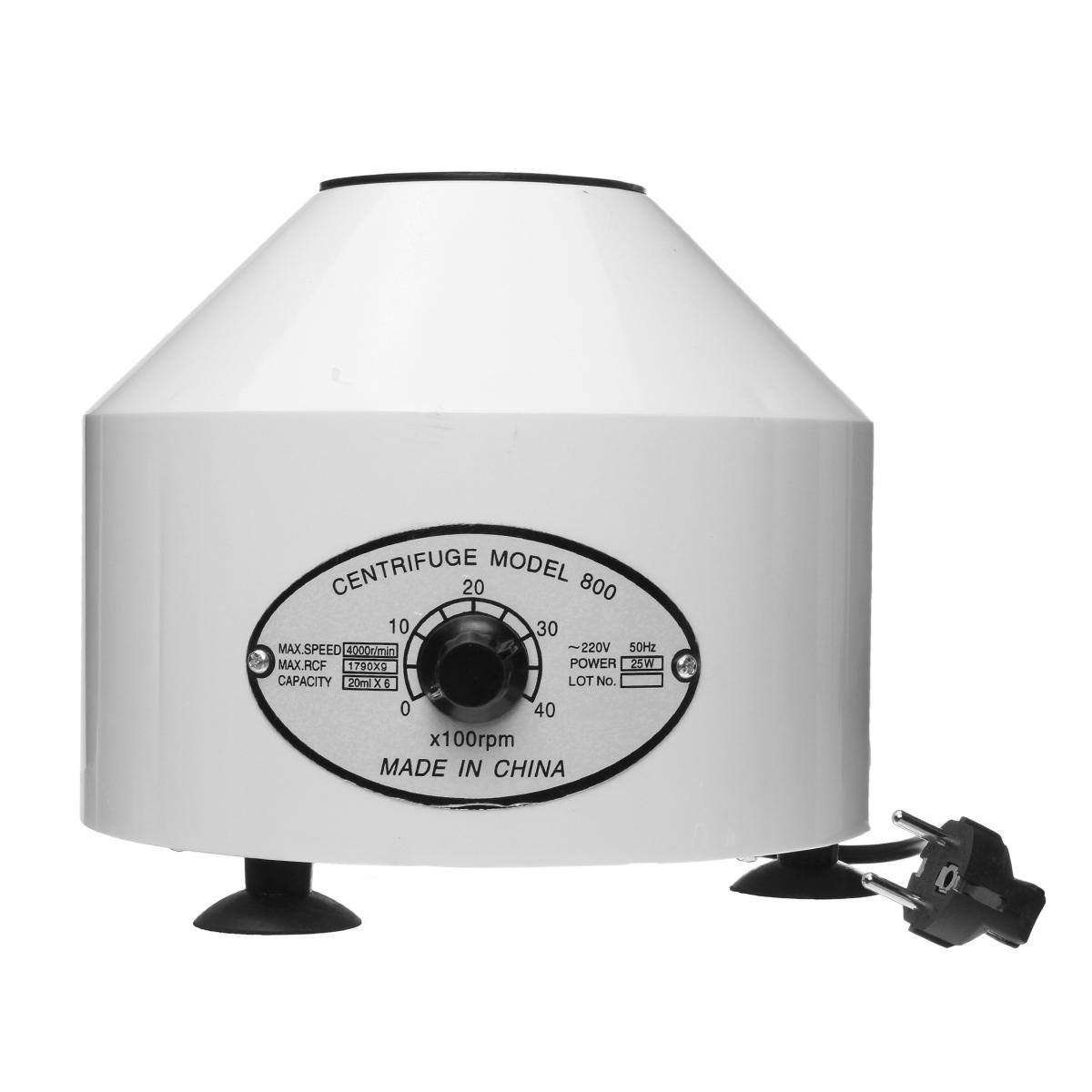 220V 800D Electric Centrifuge Laboratory Lab Medical Practice Desktop Laboratory Centrifuge Machine