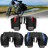 BIKIGHT 600D 20L Cycling Bike Luggage Bag Bicycle Rear Rack Seat Saddle Bag Cycling Pannier Waterpro
