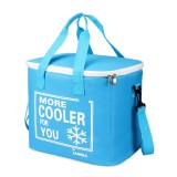 20L Oxford Cloth Insulation Package Thermal Lunch Bag Waterproof Portable Insulated Package Bag