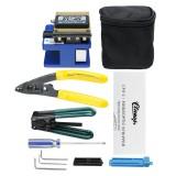 Fiber Optic FTTH Splice Tool Kit FC-6S Cutter Fiber Cleaver Optical Power Meter