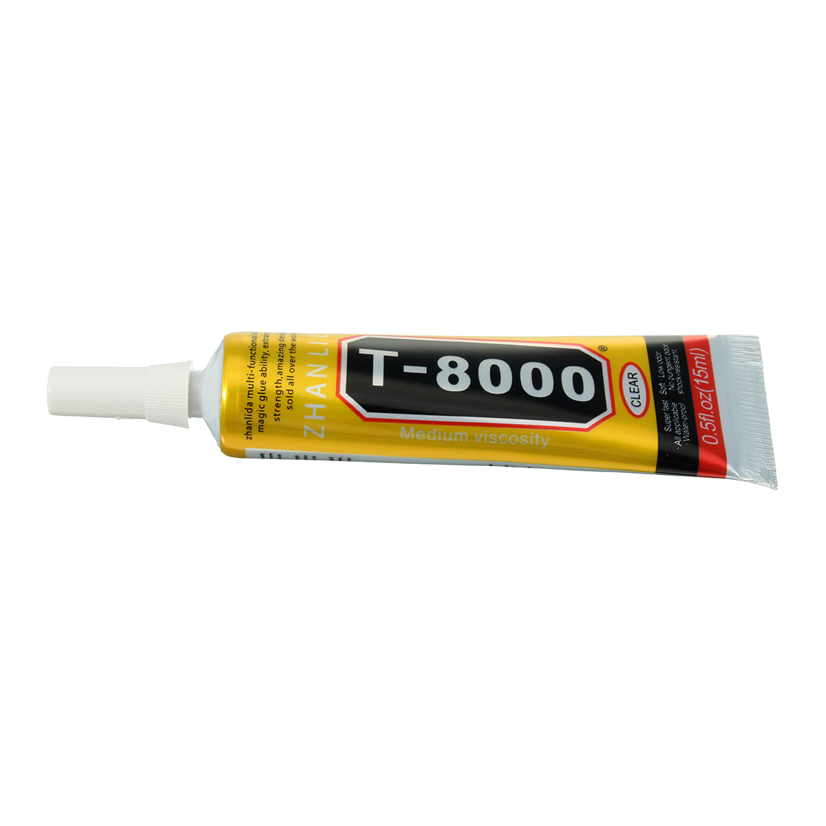 T-8000 15ml Epoxy Resin Multi Purpose LED Phone Screen Shell Repair Liquid  Glue DIY Craft T8000 Glue