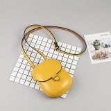 Women Faux Leather Shell Bag Leisure Shoulder Bag Bucket Bag Crossbody Bag Phone Bag
