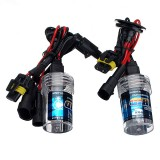 Pair H7 35W Car Xenon HID Headlights Replacement Bulb Lamp 3000K-15000K DC12V
