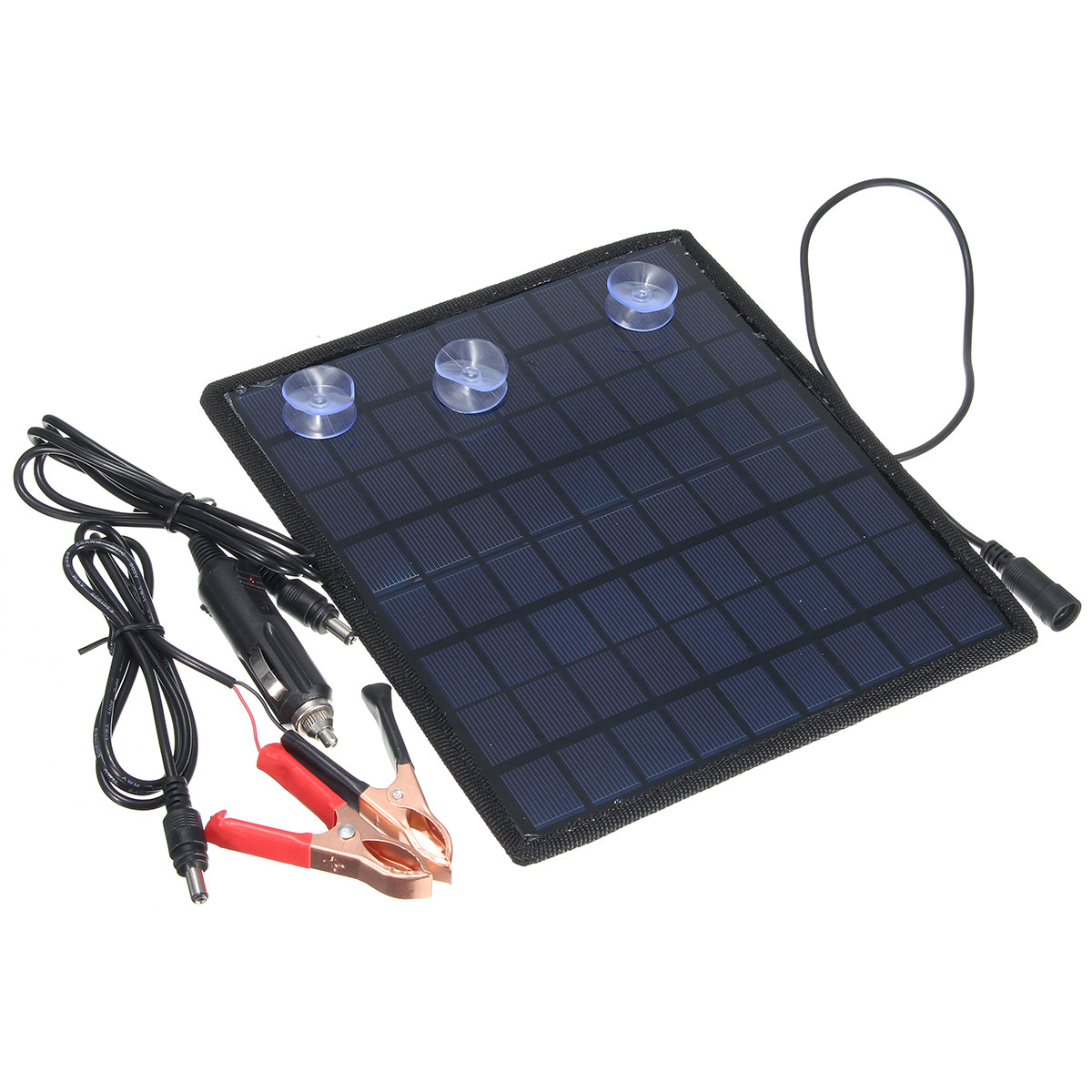 18V 5.5W Portable Solar Panel Power Battery Charger For