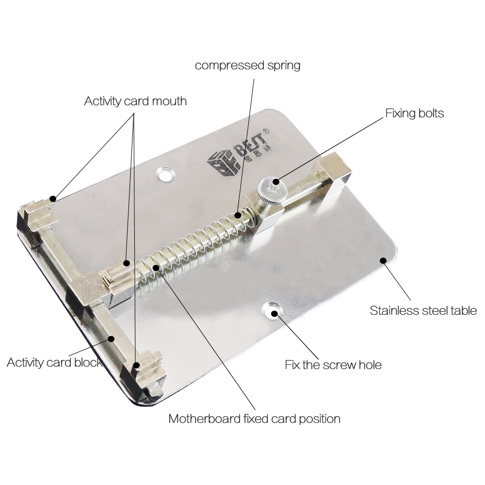 BEST BST-001A Mobile Phone Board Repair Fixture PCB Holder Fixture BGA Soldering Work Station