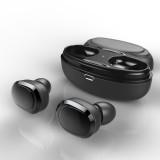 [True Wireless] T12 TWS Wireless Bluetooth Earphone Binaural Stereo Headphone with Charging Box
