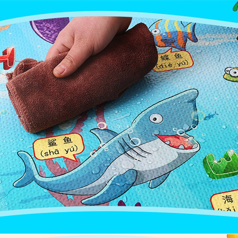 4PCS 60x60cm Baby Play Mat Foam Floor Puzzle Toddler Kids Safety Crawling Carpet