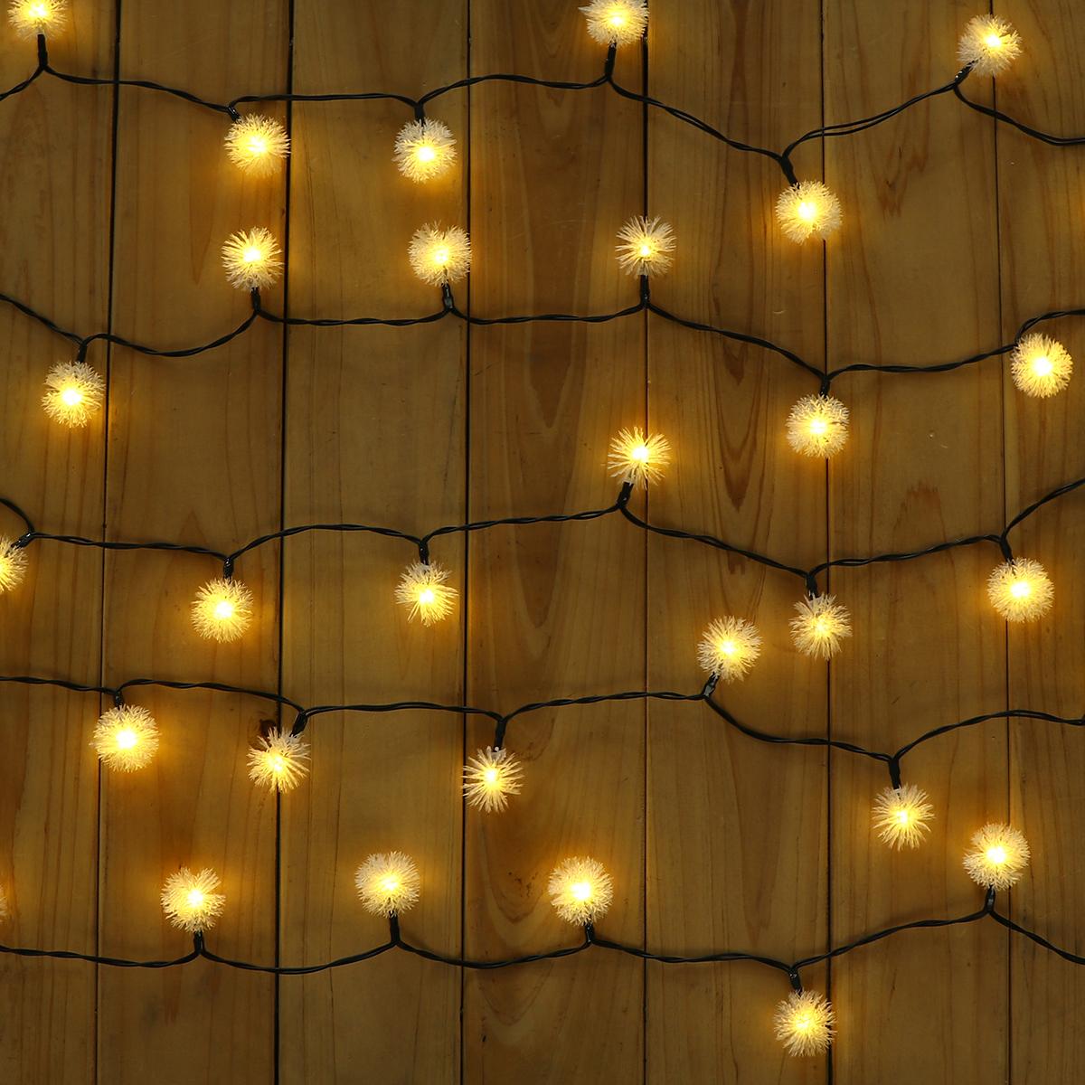 30 LED Solar Power Christmas Fairy String Lights Party Outdoor Patio Decor Lamp Creative Light