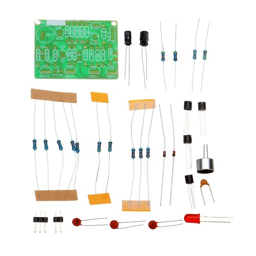 DIY Electronic Clapping Voice Control Switch Module Kit Induction Training DIY Production Kit