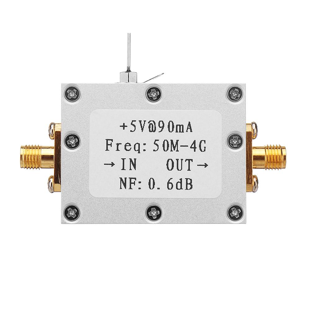 Ultra-low Noise NF0.6dB High Linearity 0.05-4G Wideband Amplifier LNA -110dBm Module