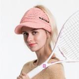 Women Vintage Multifunctional Ponytail Knit Beanie Hat Outdoor Windproof Messy Bun Ski Skullcap