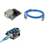 Lerdge USB Computer Online Module + 1.5M USB Cable For Lerdge-X Mainboard 3D Printer Part