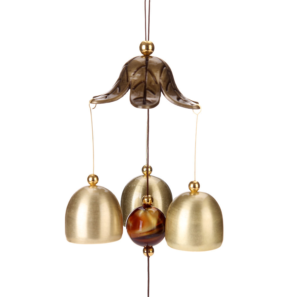 BRONZE BUTTERFLY WIND CHIME HOME HANGING ORNAMENT GARDEN YARD HOME DECOR NEW