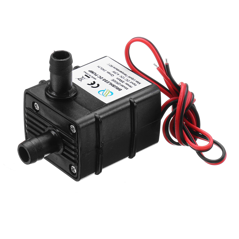 Ultra-quiet Dc 12v 3m 240l//h Brushless Submersible Water Mini Electric Waterpump