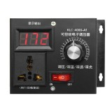 220V 4000W Universal Motor Speed Controller Variable Voltage Speed Regulator LED Display Motor