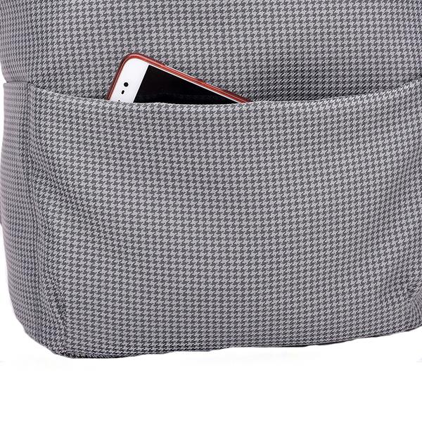 21L USB Backpack Stripe Business Bag 15.6 Inch Laptop Bag Travel Waterproof Polyester Storage Bag