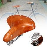 BIKIGHT Genuine Leather Cycling Bicycle Saddle Seat Comfortable Riding Cushions Bike Saddle
